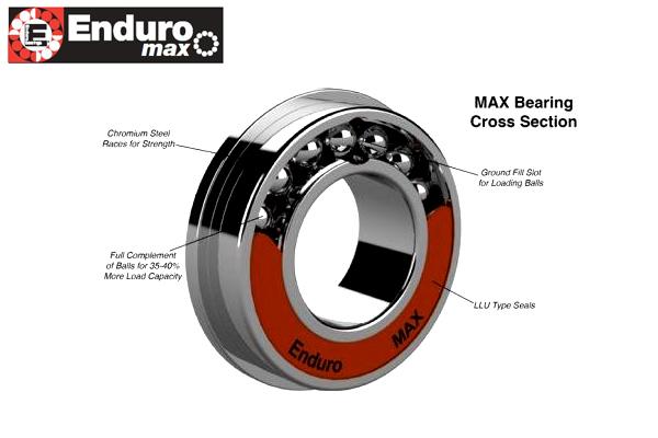 BB ENDURO abec 3 Bearing 6902 LLB 15mm x 28mm x 7mm MTB Bicycle Wheel Hub
